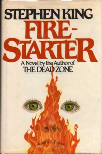 Stephen King Books - Firestarter - Stephen King - First American Edition, First Printing