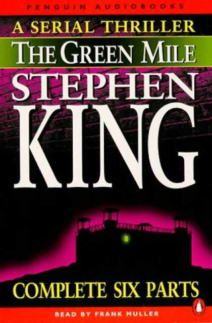 Stephen King Books - Green Mile Audio Box Set