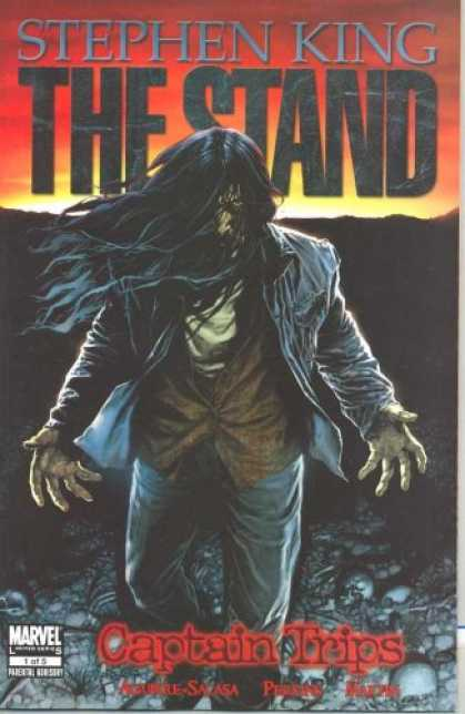 Stephen King Books - Stand Captain Trips #1 Comic Book