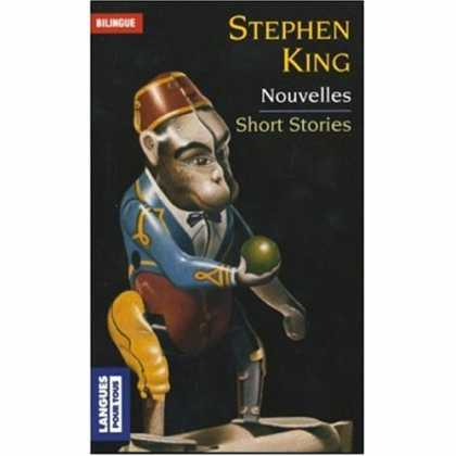 Stephen King Books - Short Stories / Nouvelles (Bilingual edition in English and French)