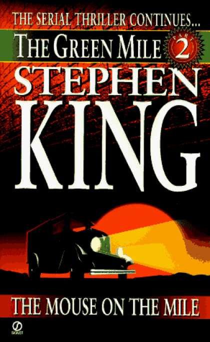 Stephen King Books - Green Mile book 2: The Mouse on the Mile: The Green Mile, part 2