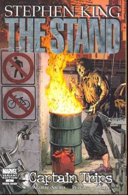 Stephen King Books - Stephen King's The Stand Captain Trips #4 1:25 Perkins Variant