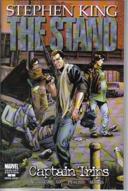 Stephen King Books - The Stand: Captain Trips #2 Perkins 1:25 Variant