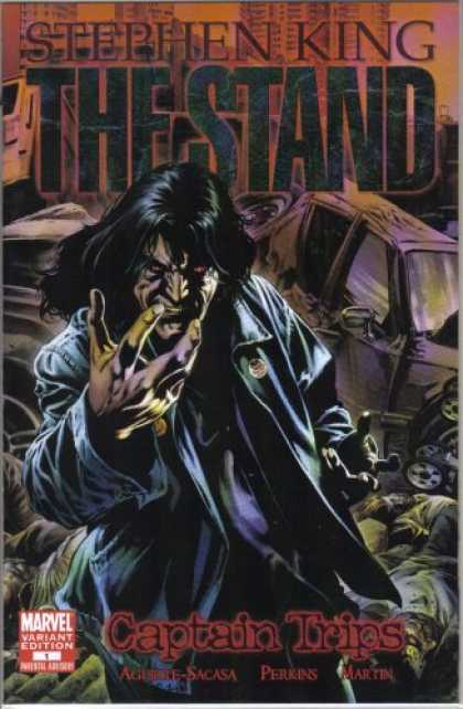 Stephen King Books - Stephen King's the Stand: Captain Trips #1 1:25 Perkins Variant