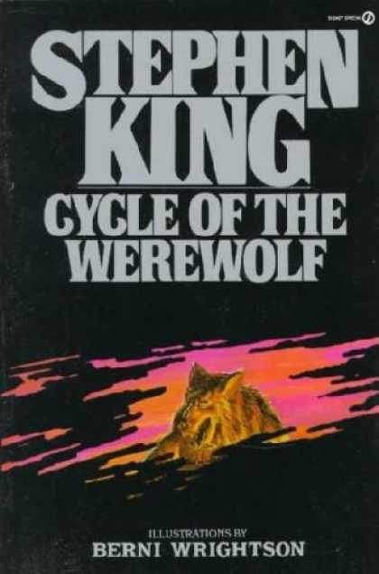 Stephen King Books - Cycle of the Werewolf