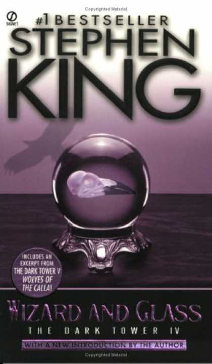 Stephen King Books - Wizard and Glass (The Dark Tower, Book 4)