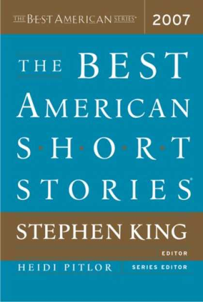 Stephen King Books - The Best American Short Stories 2007