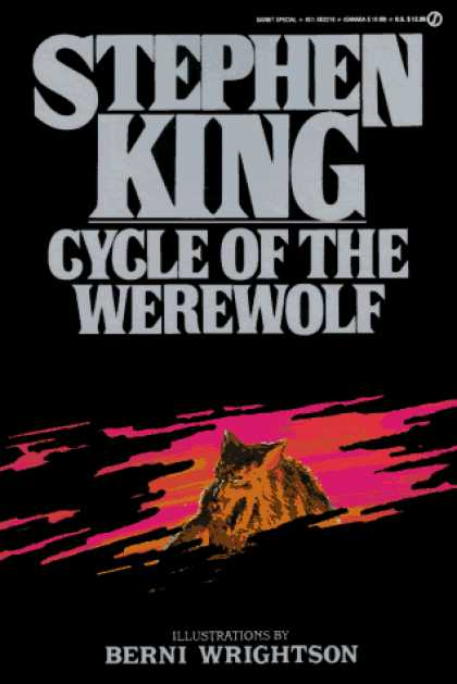 Stephen King Books - Cycle of the Werewolf (Signet)