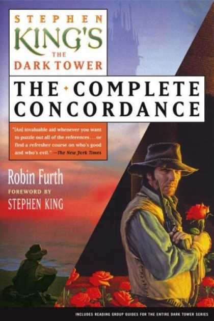 Stephen King Books - Stephen King's The Dark Tower: The Complete Concordance