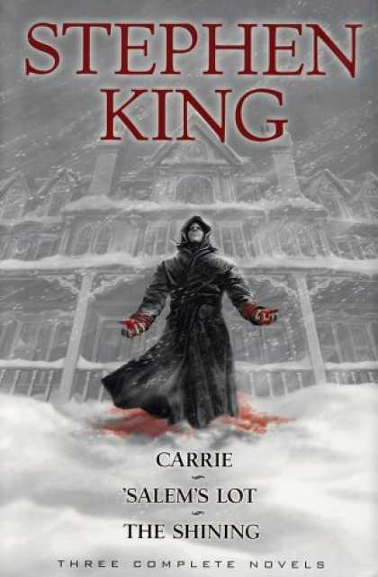 Stephen King Books - Stephen King: Three Complete Novels: Carrie; Salems Lot; The Shining