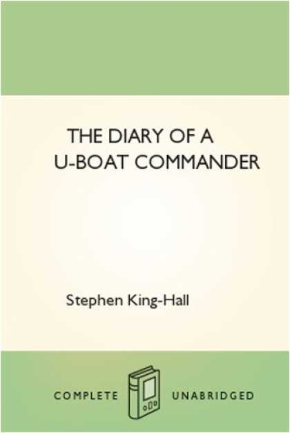 Stephen King Books - The Diary of a U-boat Commander