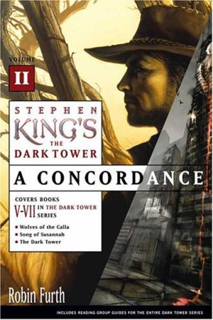 Stephen King Books - Stephen King's The Dark Tower: A Concordance, Volume II