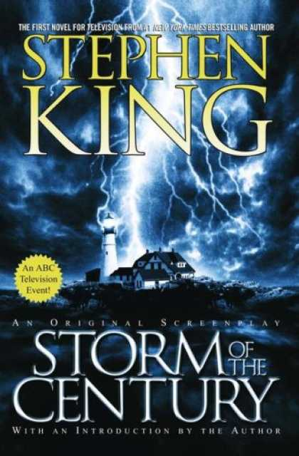 Stephen King Books - Storm of the Century: An Original Screenplay