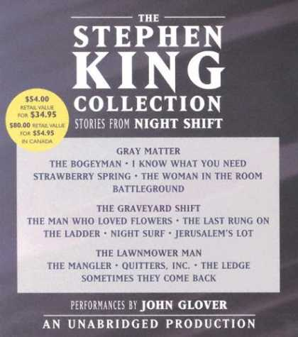 Stephen King Books - The Stephen King Collection: Stories from Night Shift
