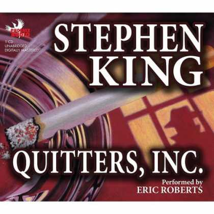 Stephen King Books - Quitters, Inc.