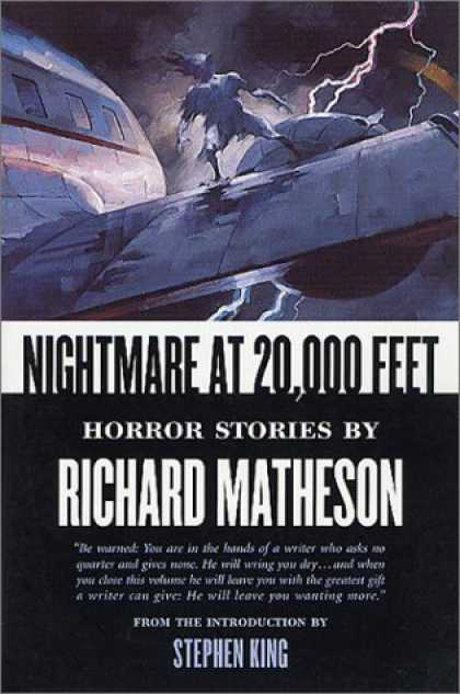 Stephen King Books - Nightmare At 20,000 Feet: Horror Stories By Richard Matheson