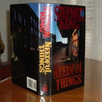 Stephen King Books - NEEDFUL THINGS By STEPHEN KING 1991 FIRST EDITION GOOD+