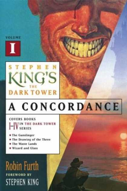 Stephen King Books - Stephen King's The Dark Tower: A Concordance, Vol. 1