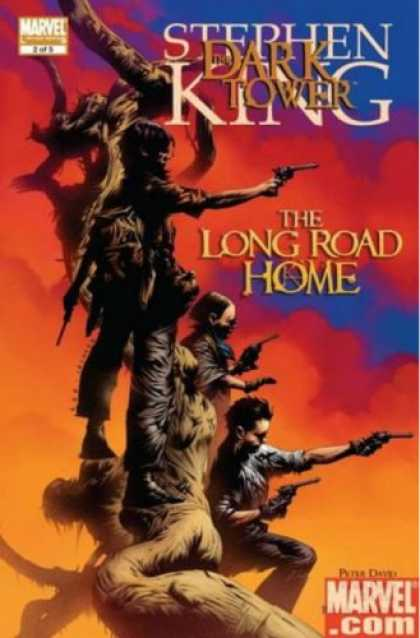 Stephen King Books - The Dark Tower: The Long Road Home
