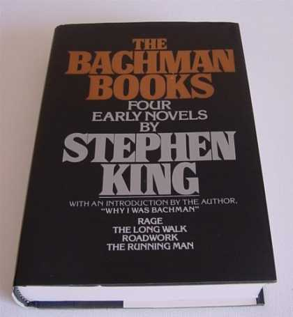 Stephen King Books - The Bachman Books