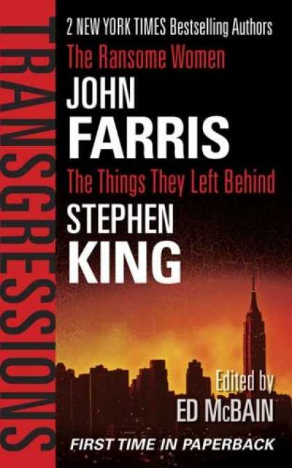 Stephen King Books - Transgressions, Vol. 2: The Things They Left Behind / The Ransome Women
