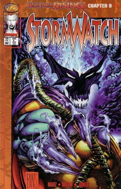 Stormwatch 22 - Adversary - Powerful - Disadvantage - Conqueror - World Domination - Barry Windsor-Smith