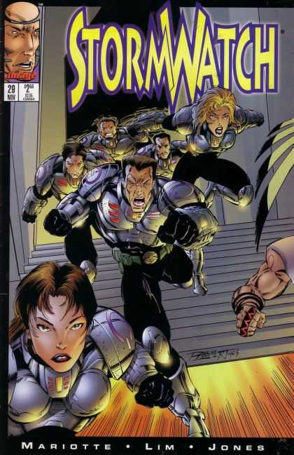 Stormwatch 29 - Mariotte - Lim - Jones - All Are Running - Ready For Attack - Ron Lim