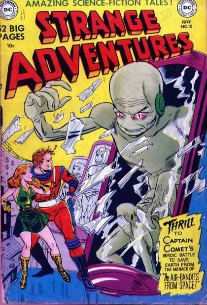 Strange Adventures 10 - Alien - Captain Comet - July - Shattered Glass - Humans
