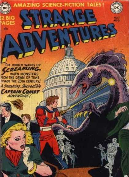 Strange Adventures 11 - Sciene-fiction Tales - Screaming - Captain Comet - Adventure - Dc