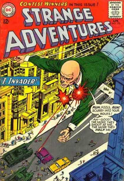 Strange Adventures 175 - Contest Winners - I Invader - Run - Fools - Help Me