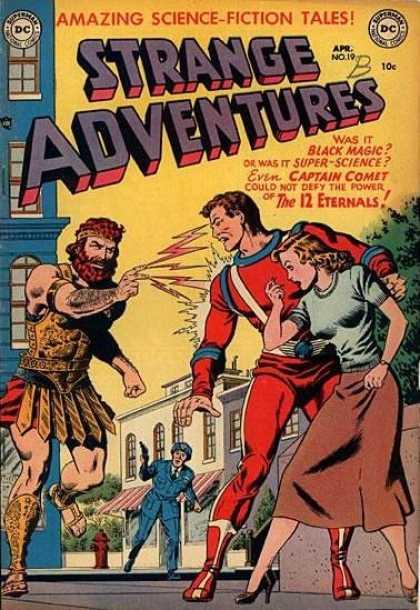 Strange Adventures 19 - Dc - Superman - Amazing Science Fiction Tales - Gun - The 12 Eternals