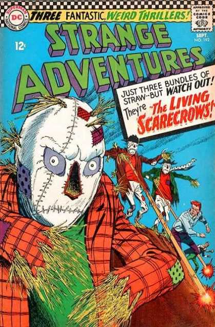 Strange Adventures 192 - Mummy - Eyes - Nose - Head - Teeth - Carmine Infantino