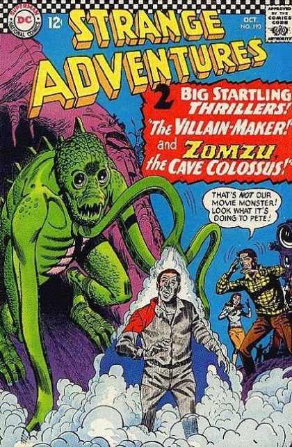 Strange Adventures 193 - Zomzu - Thriller - Movie - Strange Creature - Vapor