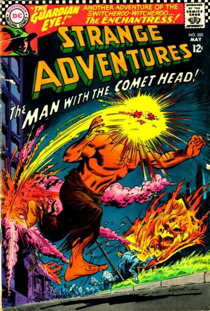 Strange Adventures 200 - Comet - Space - Guardian Eye - Dc - Head - Carmine Infantino, George Roussos