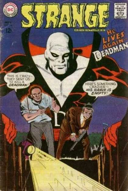 Strange Adventures 206 - George Roussos
