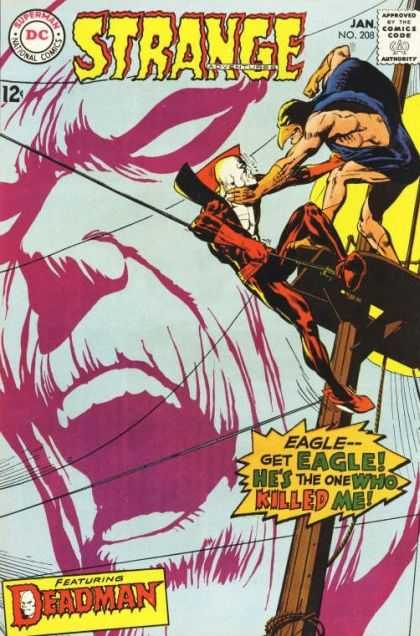 Strange Adventures 208 - Eagle - Neal Adams