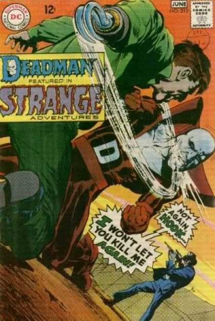 Strange Adventures 212 - Superman - National Comics - Deadman - Not Again Hook - I Wont Let You Kill Me Again - Neal Adams