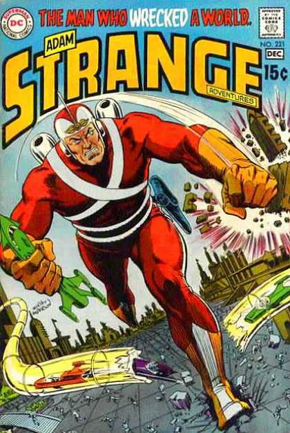 Strange Adventures 221 - Dc - Dc Comics - Adam Strange - Havoc - Man Who Wrecked A World - Murphy Anderson