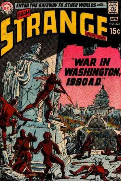 Strange Adventures 223 - Capital City - Future - Warrior - Science-fiction - Fighting - Murphy Anderson