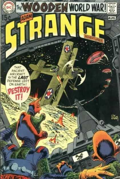 Strange Adventures 225 - Aliens - Space - Adam - 15 Cents - Speech Bubble - Joe Kubert
