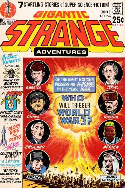Strange Adventures 226 - Joe Kubert