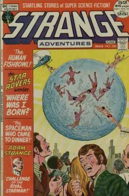 Strange Adventures 236 - Dc - June - Approved By The Comics Code Authority - The Human Fishbowl - Star Rovers