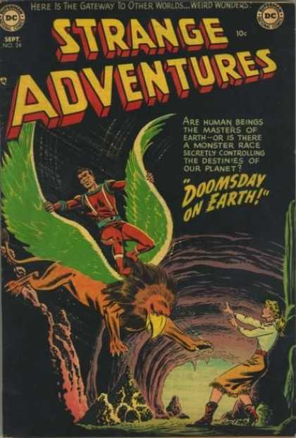 Strange Adventures 24 - Weird Wonders - Gateway To Other Worlds - Masters Of Earth - Monster Race - Doomsday On Earth