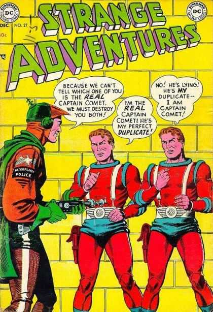 Strange Adventures 27 - Interplanetary Police - Duplicate - Captain Comet - Dc - Superman