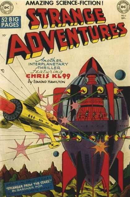 Strange Adventures 3 - Amazing Science-fiction - 52 Big Pages - Chris - Edmond Hamilton - Antoher Interplanetary Thriller - Jim Starlin, Rob Hunter
