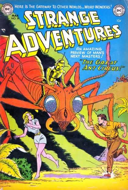Strange Adventures 30 - Giant Ant - Ant - The Great Ant Circus - Robot - Running