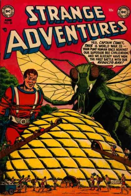 Strange Adventures 33 - Captain Comet - Dc - Grasshopper - Tied Up - Reducto Ray
