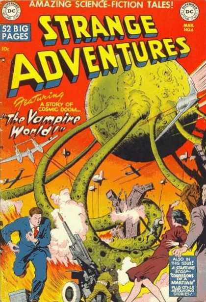 Strange Adventures 6 - Planes - Vampires - Space - Fighting - Destroying The City
