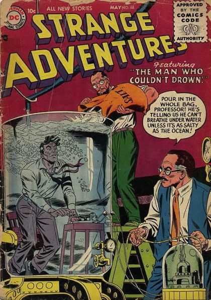 Strange Adventures 68 - Drown - Salt - Professor - Bag - Experiment