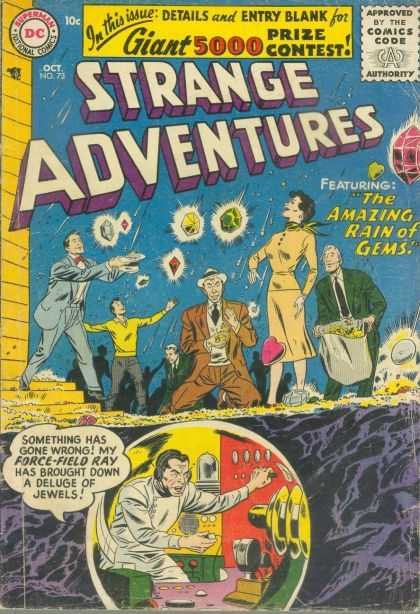 Strange Adventures 73 - Gems - Dc - Dc Comics - Rain - Jewels